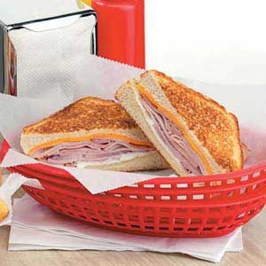 Grilled Ham 'n' Jack Cheese Recipe
