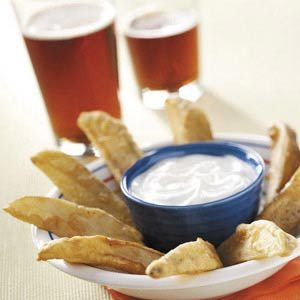 Beer-Battered Potato Wedges