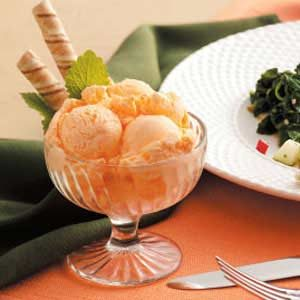 Frozen Orange Delight Recipe