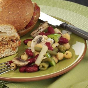 Tangy Four-Bean Salad