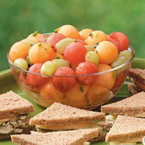 Melon 'n' Grape Medley Recipe