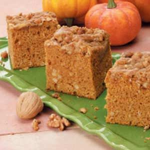 Contest-Winning Pumpkin Coffee Cake Recipe
