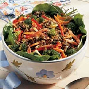 Wild Rice Ham Salad Recipe