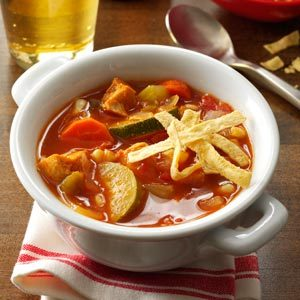 Zesty Chicken Soup Recipe