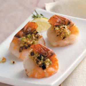 Mushroom-Stuffed Shrimp Recipe
