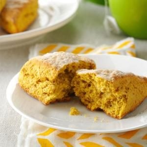 Pumpkin Ginger Scones Recipe