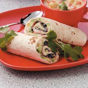 Taco Avocado Wraps Recipe