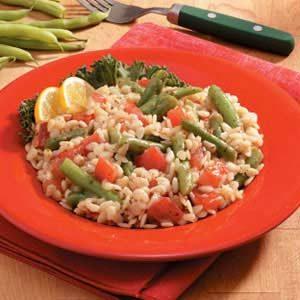 Greek Salad with Orzo Recipe