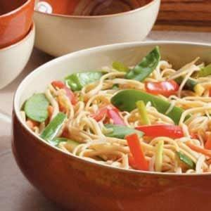 Asian Linguine Salad Recipe