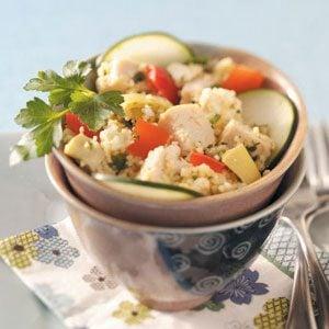 Couscous Chicken Salad Recipe