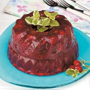Flavorful Cranberry Gelatin Mold Recipe