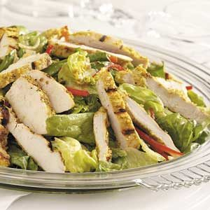 Grilled Thai Chicken Salad Recipe