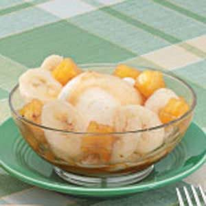 Banana Pineapple Sundaes Recipe