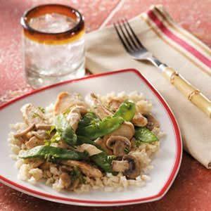 Ginger Mushroom Chicken Recipe photo by Taste of Home