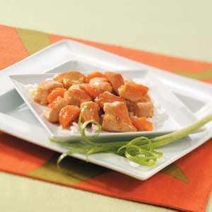 Apricot Orange Chicken Recipe