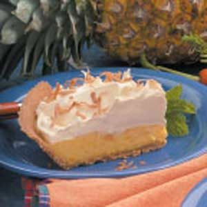 Pineapple Pudding Pie Recipe