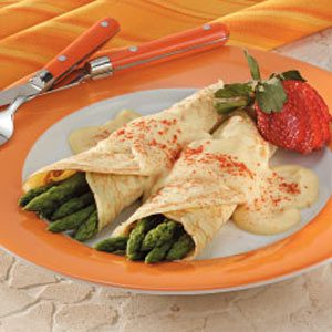 Asparagus Crepes Recipe