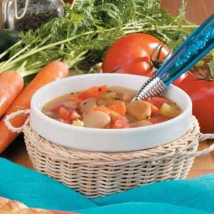 Butter Bean Veggie Soup Recipe