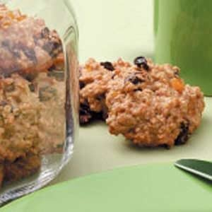 Peach Oat Cookies Recipe