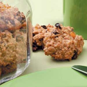 Peach Oat Cookies