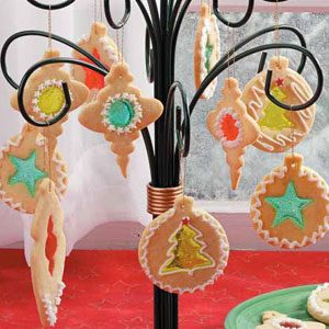 Stained Glass Cookie Ornaments Recipe