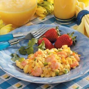 Simple Shrimp Scramble Recipe