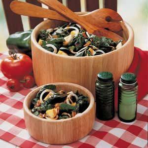 Crunchy Spinach Salad