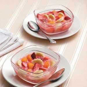 Easy Frozen Fruit Cups Recipe