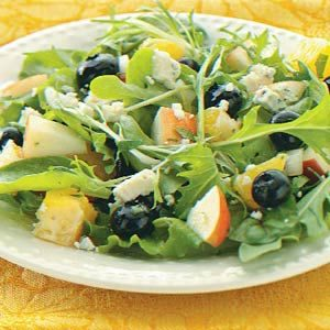 Blueberry Salsa Salad Recipe