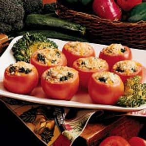 Broccoli Tomato Cups Recipe