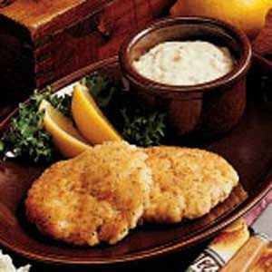 Golden Fish Cakes Recipe