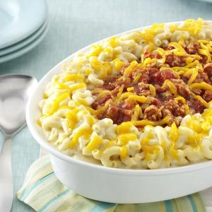 Makeover Sloppy Joe Mac and Cheese