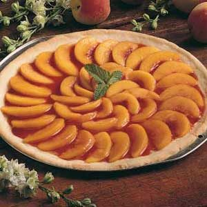 Peach Pizza Pie Recipe