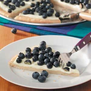 Lemon Blueberry Pizza Recipe