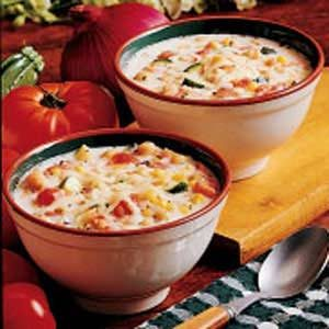 Oven Cheese Chowder Recipe