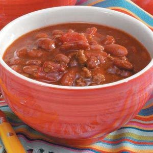 Barbecued Turkey Chili Recipe