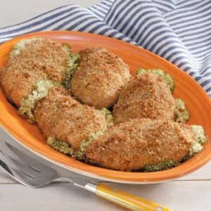 Stuffing-Coated Chicken