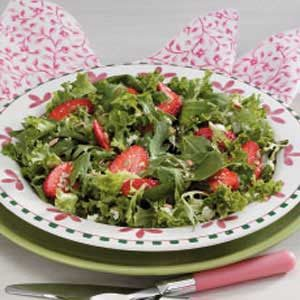 Strawberry Feta Tossed Salad Recipe