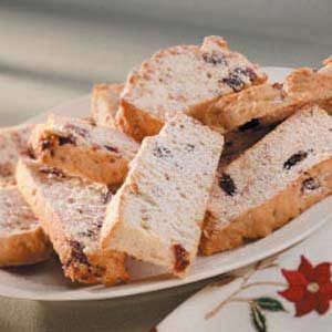 Dried Cherry Biscotti Recipe