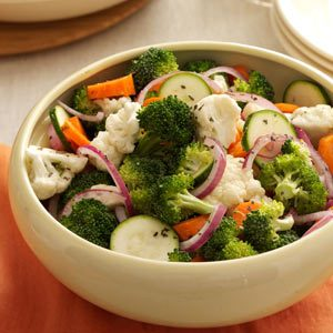 Crunchy Vegetable Salad Recipe