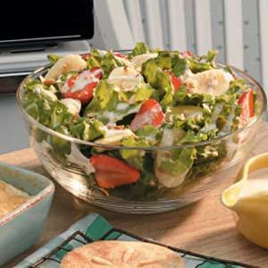 Creamy Banana Lettuce Salad Recipe