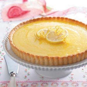 Lemon Tart with Almond Crust Recipe