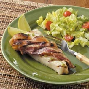 Halibut with Bacon Recipe