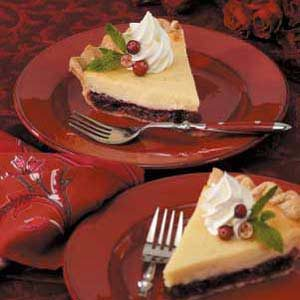 Cheesecake Cranberry Pie Recipe
