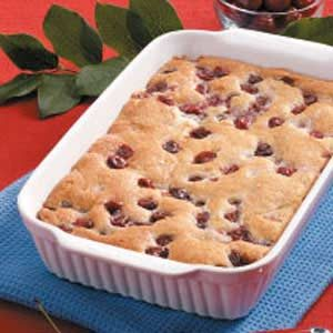 Baked Cherry Pudding Recipe