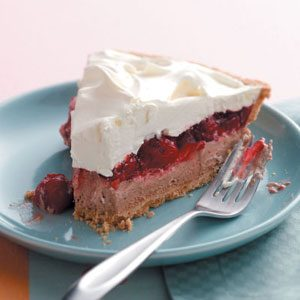 Whipped Chocolate and Cherry Pie Recipe