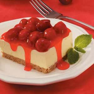 Sweet Cherry Cheese Dessert