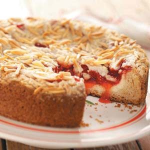 Cherry Cream Cheese Coffee Cake Recipe