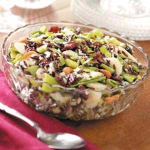 Cherry Wild Rice Salad Recipe