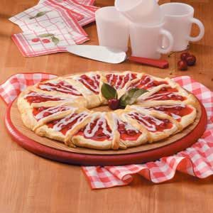 Cherry Crescent Coffee Cake Recipe